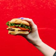 Fast food, Food, Hamburger, Junk food, Dish, Cheeseburger, Cuisine, Whopper, Sandwich, Finger food,