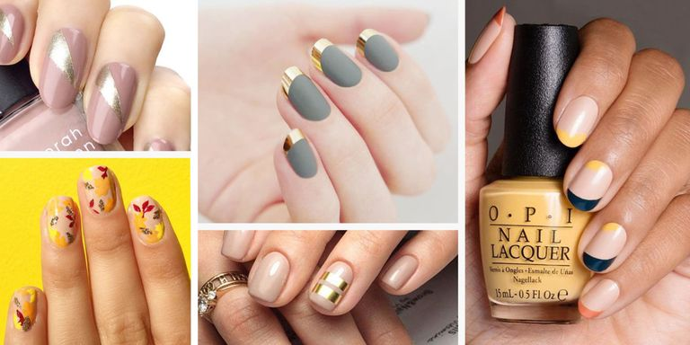 12 best thanksgiving nail ideas for 2018 insta worthy fall and thanksgiving nail art ideas prinsesfo Image collections
