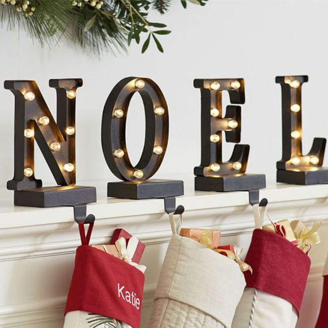 15 Best Christmas Stocking Hangers For 2018 Christmas