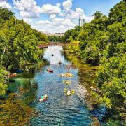 The best swimming holes in Austin, Texas.