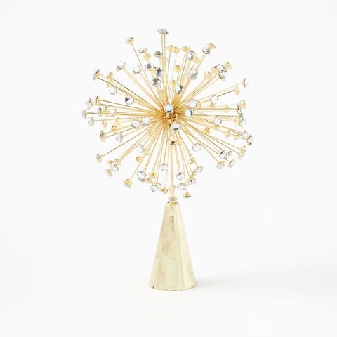 West Elm Metal Burst Tree Topper