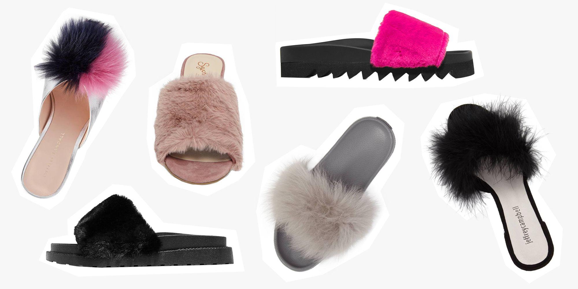 size 40 588af c53f3 14 Best Fur Slides for Fall 2018 - Furry Slides From Puma ...
