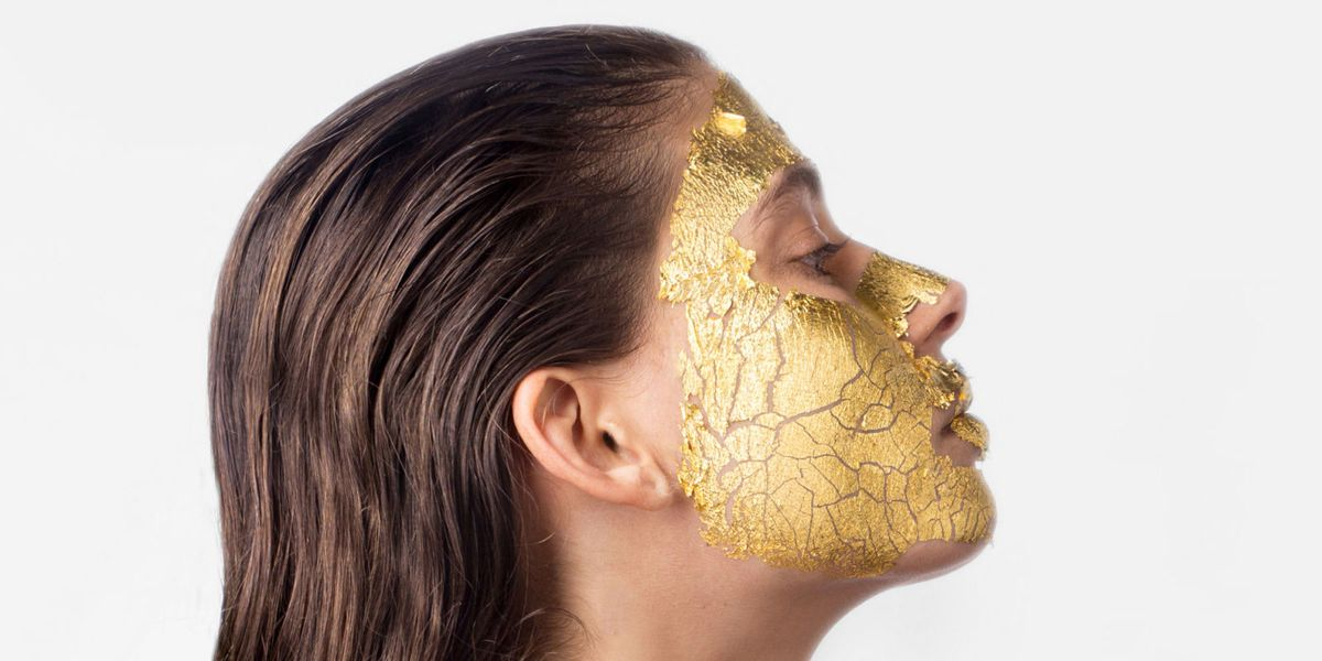 8 Best 24 Karat Gold Masks To Use In 2018 24k Gold Face
