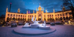 where to go for Christmas - Copenhagen, Denmark
