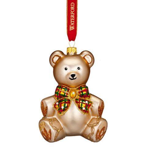 waterford nostalgic babys first teddy bear ornament 2017