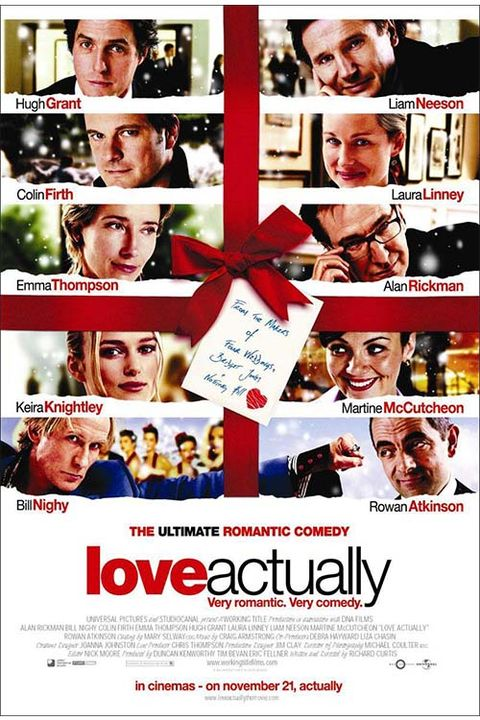 love actually - Best Netflix Christmas Movies