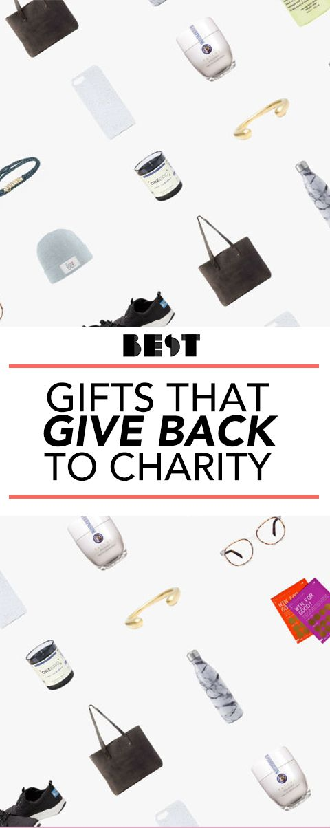 40 gifts that give back to charity great charitable gift ideas for 2018