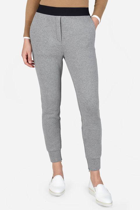 everlane street fleece gray pants