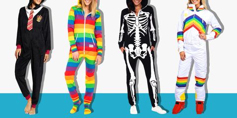 2a5db66f61 16 Best Adult Onesies for 2018 - Funny Adult Onesies   Footie Pajamas