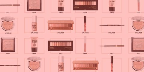 save or splurge makeup dupes