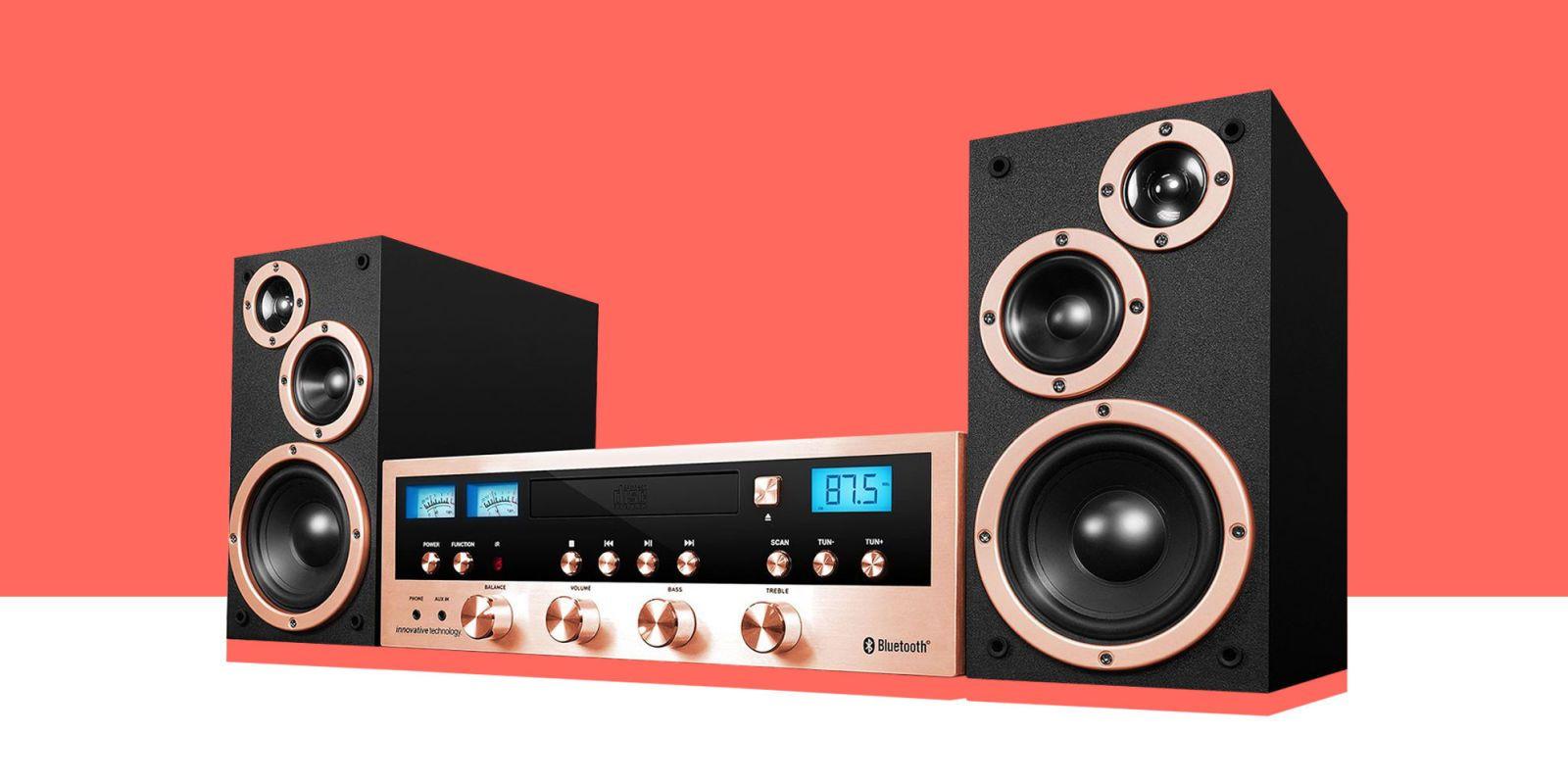 Best stereo shelf systems for home stereo shelf speakers