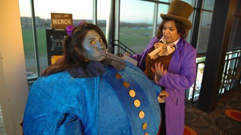 Willy Wonka and the Chocolate Factory movie party at the Austin, Texas Alamo Drafthouse 2017