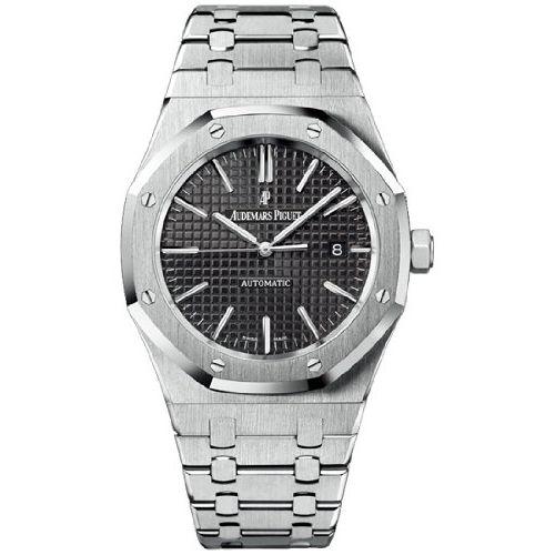 Reloj Audemars Piguet Royal Oak Black Dial Stainless Steel