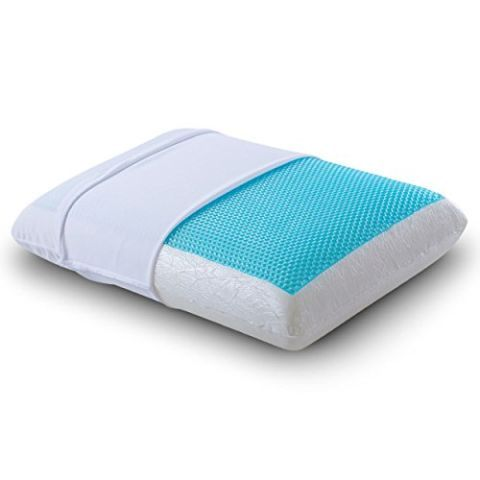Cr Sleep Reversible Memory Foam Gel Pillow