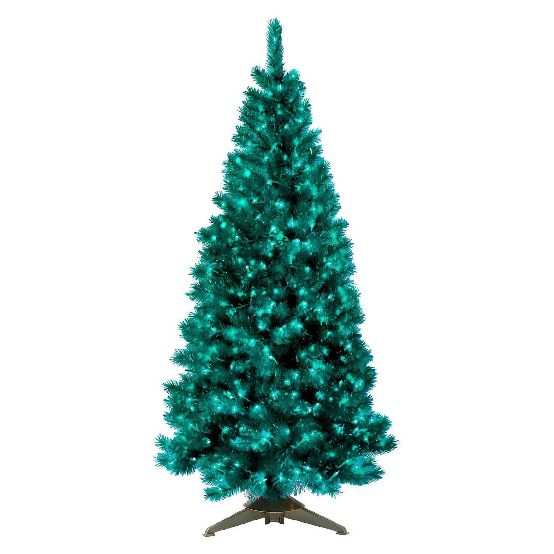 General Foam 6' Pre-Lit Artificial Christmas Tree