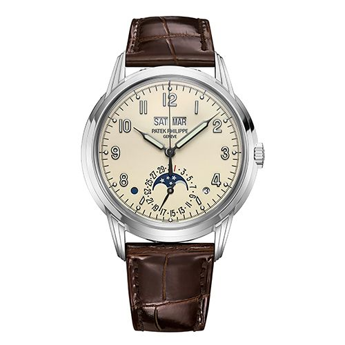 Reloj Patek Philippe Perpetual Calendar reloj de lujo para hombre