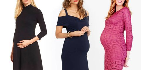 875f7b59114 9 Formal Maternity Dresses to Wear as a Wedding Guest - Maternity ...