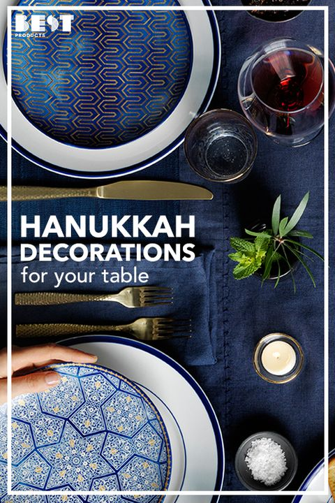 12 Best Hanukkah Decorations For 2018 Pretty Hanukkah