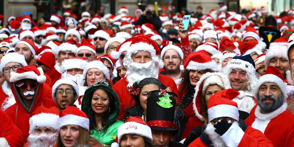 Your Guide To Nyc S Santacon 2018 Everything To Know