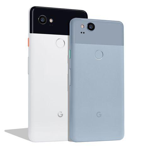 Google Pixel 2 and Pixel 2 XL Android Smartphones