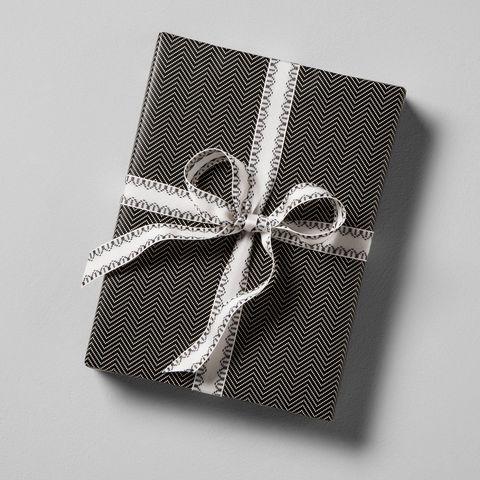 Hearth & Hand with Magnolia Herringbone Gift Wrap