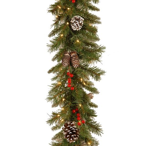 National Tree Company Frosted Berry Garland