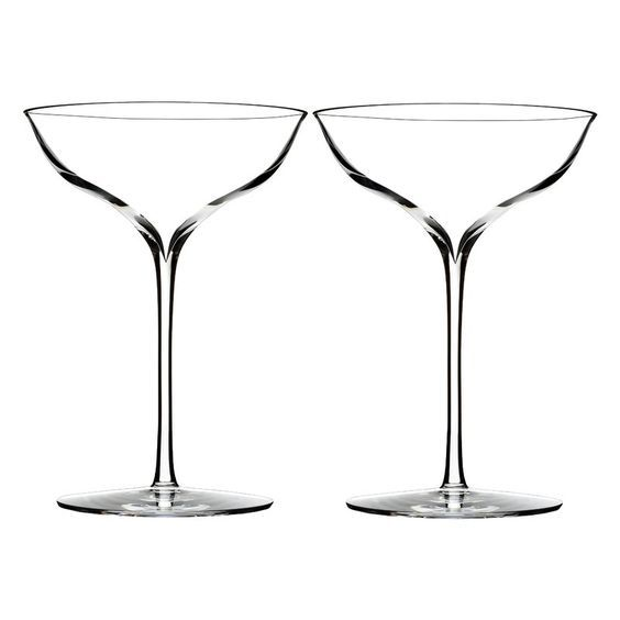 Elegance Belle Coupe 8oz. Champagne Glass