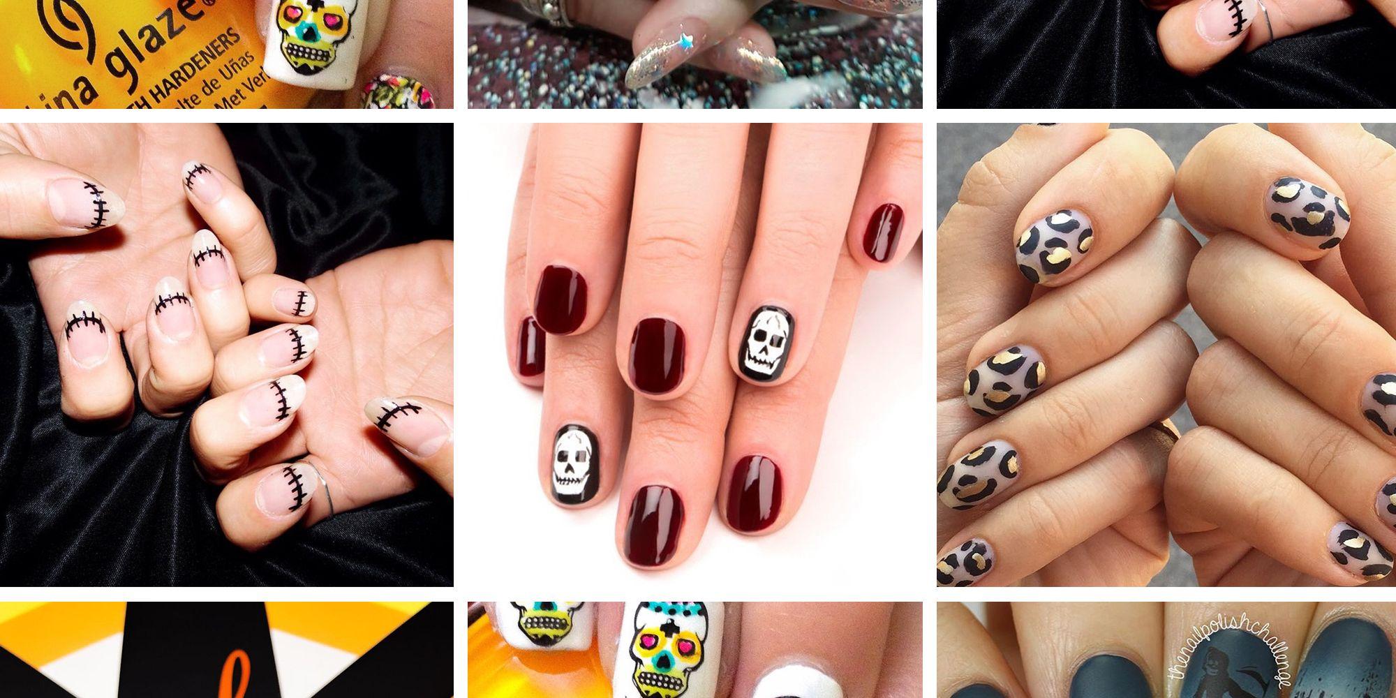 11 Best Halloween Nail Ideas & Inspiration 2018 - Halloween Nail Art ...