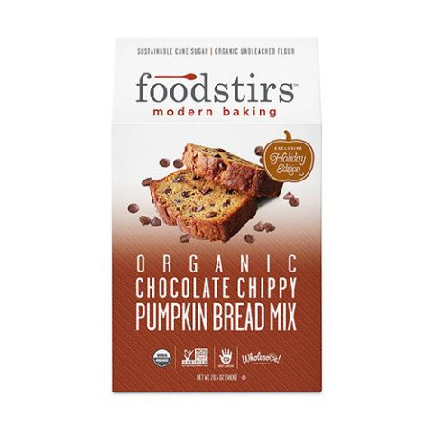 Foodstirs Organic Chocolate Chippy Pumpkin Bread Mix