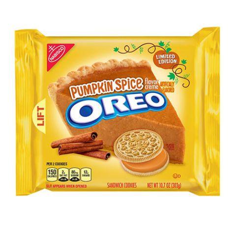 Oreo Pumpkin Spice Crème Sandwich Cookies