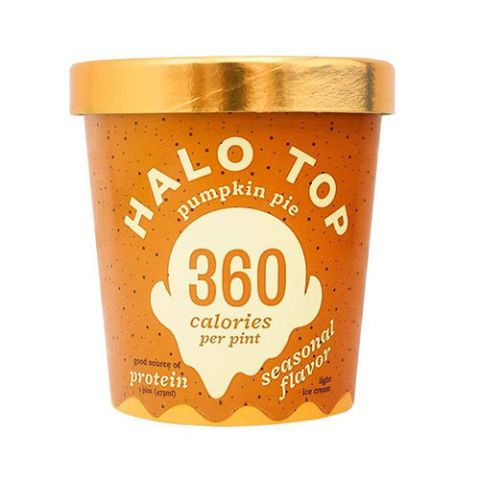 Halo Top Pumpkin Pie