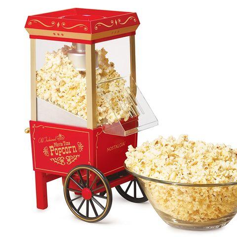 Popcorn, Kettle corn, Popcorn maker, Snack, Food, Cuisine, Kitchen appliance,