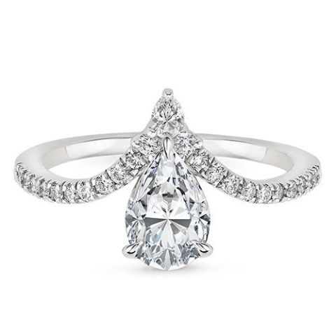 brilliant earth nouveau diamond ring