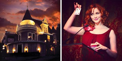 Magic Castle in Hollywood, LA is one of the most exclusive places