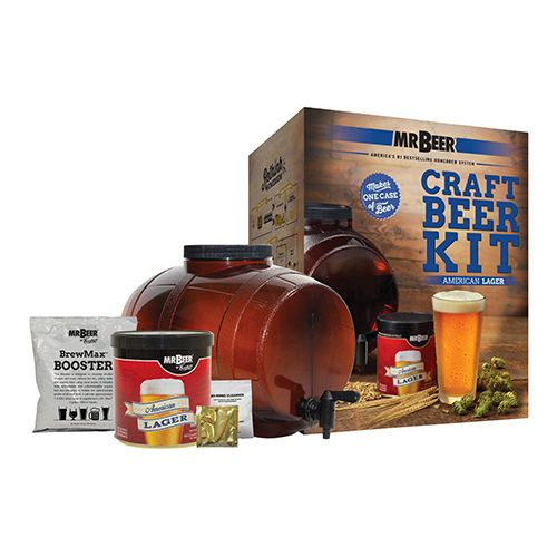 Mr. Beer American Lager Craft Beer Making Kit