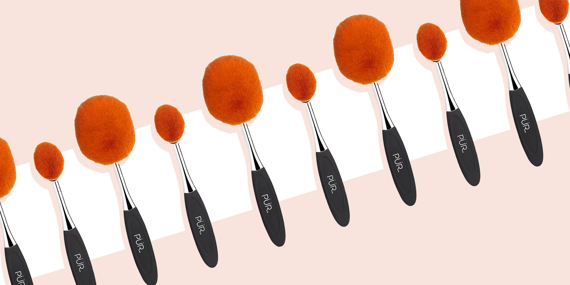 How To Use Oval Makeup Brushes Oval Makeup Brush Tutorials For Contour Foundation Blush