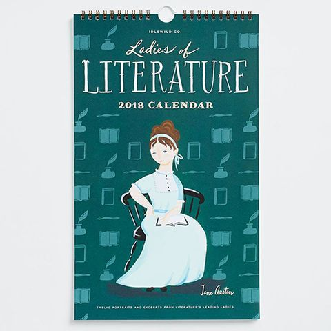 Idlewild Co. Ladies of Literature Calendar