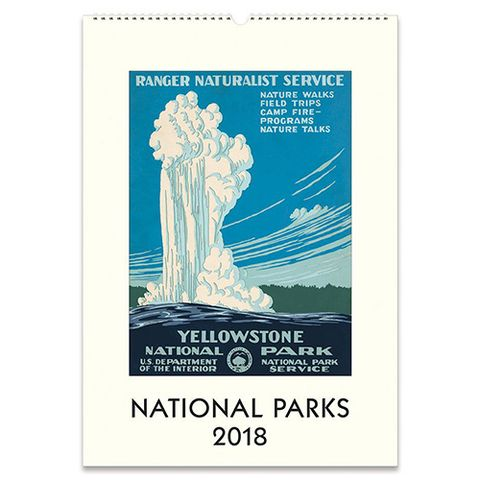 Cavallini National Parks Wall Calendar