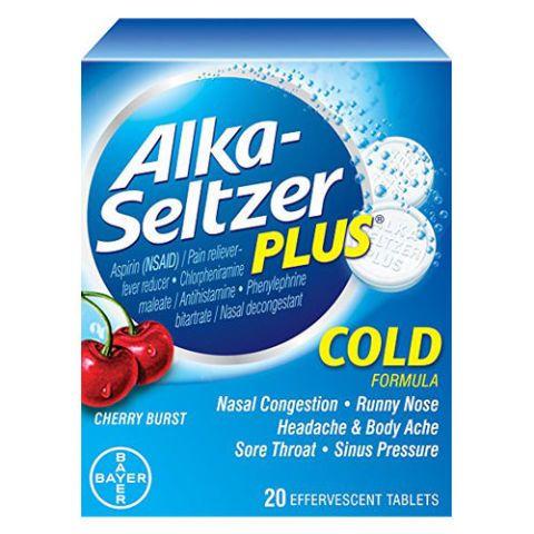 Alka-Seltzer Plus Cold Medicine