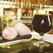 Wynkoop Brewing in Denver makes Rocky Mountain Oyster Stout, aka, bull testicle beer