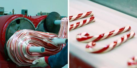 Hammond's Candies in Denver makes candy canes