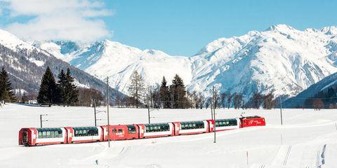 The Glacier Express — Switzerland