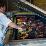 Smitty's Market in Lockhart, Texas right outside of Austin has amazing barbecue.
