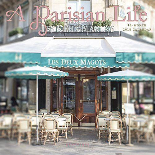 Graphique A Parisian Life Mini Calendar
