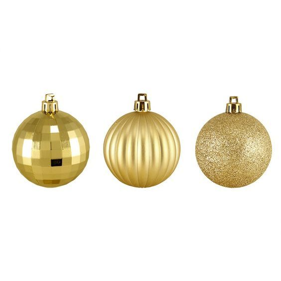 The Holiday Aisle 100 Piece Shatterproof Christmas Ball Ornament Set