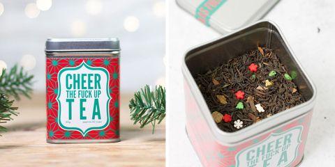 Cheer the Fuck Up Tea perfect for holiday season.