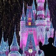 Live-stream Cinderella Castle Lighting