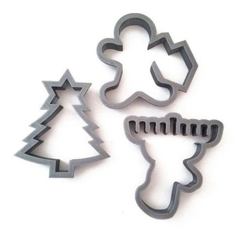 etsy chrismukkah cookie cutters