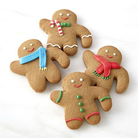 Williams Sonoma Gingerbread Folks Mug Toppers