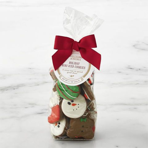 Williams Sonoma Holiday Mini Iced Cookies